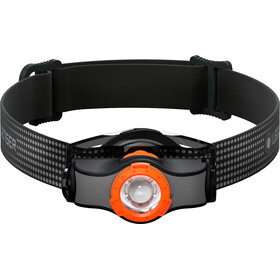 Led Lenser MH3 Faro Delantero, black/orange